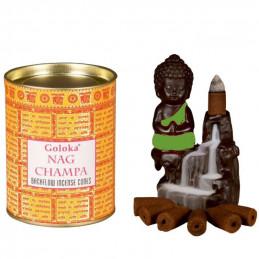 Nag champa backflow cones...