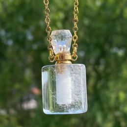 parfume flaske i bjergkrystal