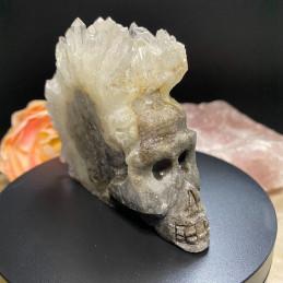 Bjergkrystal_klynge_skull