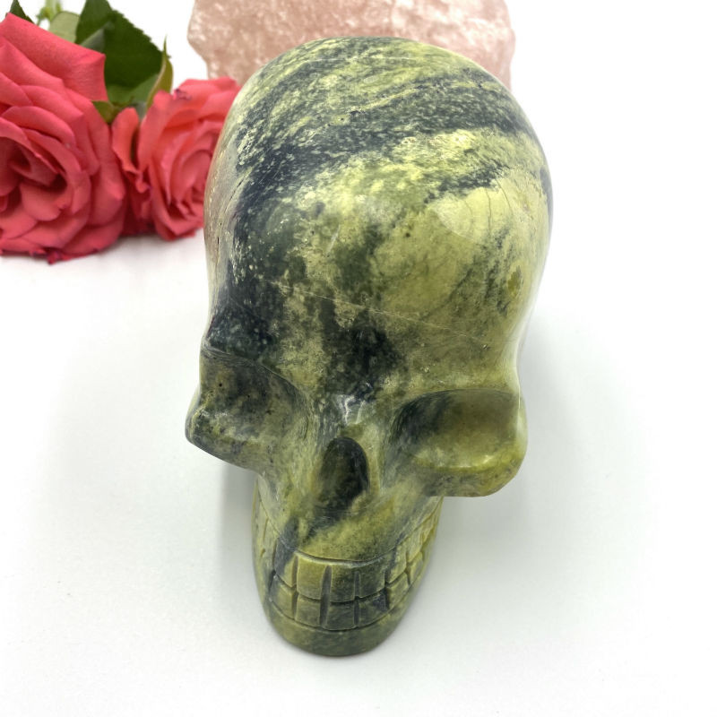 Image of Cheetah serpentin skull