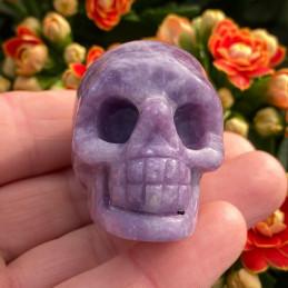 Purple mica skull